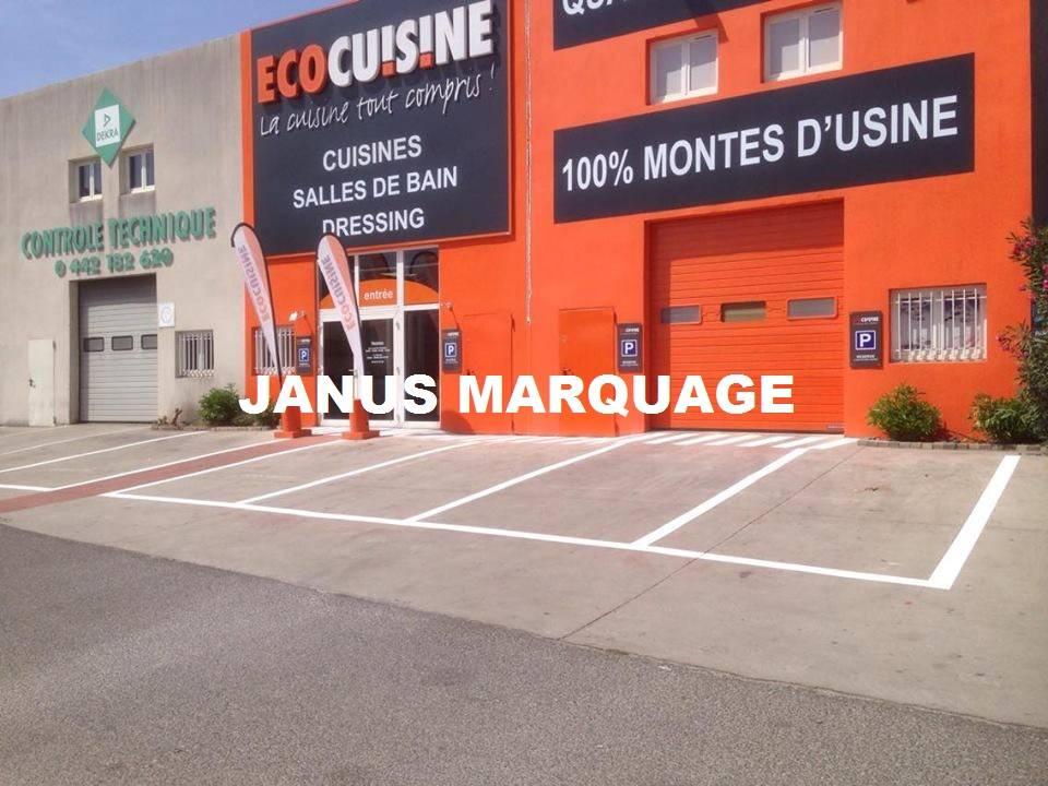 Peinture Au Sol Pour Parking Exterieur Zone Des Paluds Aubagne